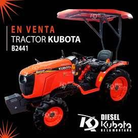 EN VENTA TRACTOR KUBOTA B2441 COMPLETAMENTE NUEVO