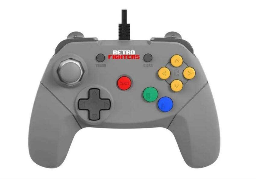 Control Retrofighters Brawler64 Para Nintendo 64 Nuevo 0