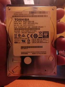Disco duro 1tb portátil