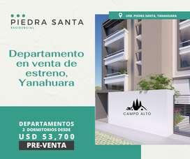 Departamento en Venta Piedra Santa Yanahuara de estreno