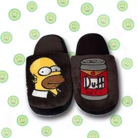 Divertidas pantuflas de Homero
