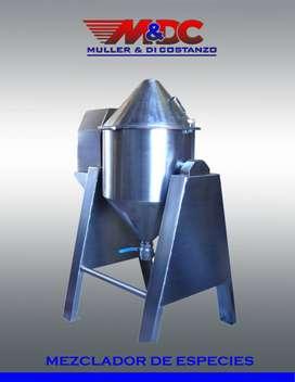 Mezcladora de Especies - Acero Inoxidable - Metalurgica Muller y Di Costanzo