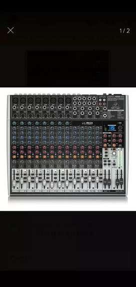 Mixer Behringher 16 canales