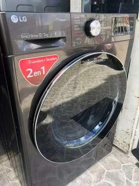 Lavadora secadora de 26 libras (producto de exhibición)