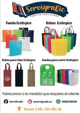 Somos fabricantes de bolsos y fundas ecológicas