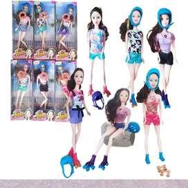 Muñeca Soy Luna Patinadora Juguete Tipo Barbie Artic Musical