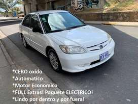 Honda CIVIC 2004 AUTOMATICO FuLL Extras Recibo & FINANCIO