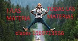 """Clases particulares """"11""""69713566 a domicilio t/Las materias"""
