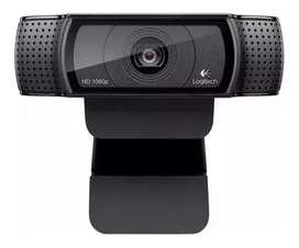 Cámara logitech HD1080p