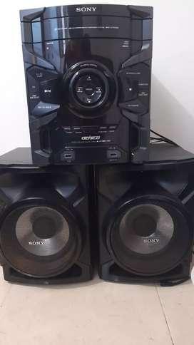Equipo de sonido SONY
