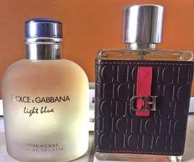 Perfumes D&G y CH