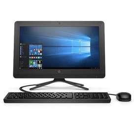 "TODO EN UNO HP 20-C405LA - INTEL CORE I5 7200U - 1 TERA - 4GB DDR4 - PANTALLA 19.5"" - NO DVD - WINDOWS 10 - NEGRO"