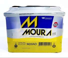 Bateria MOURA 12x70 reforzada M26AD quilmes nueva garantia envios flete vw fiat chevrolet ford citroen peugeot