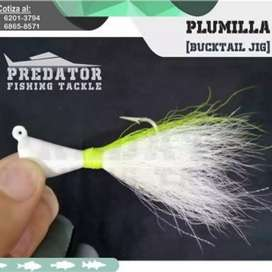 Vendo Plumillas ( bucktail) de pesca