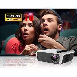 Video Beam de 4500 lumenes LED Proyector FullHD 1080p Nativo Portable Ultra Liviano - 0222