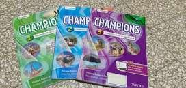 Libro Champions Segunda edición, nivel 1,2 y 3