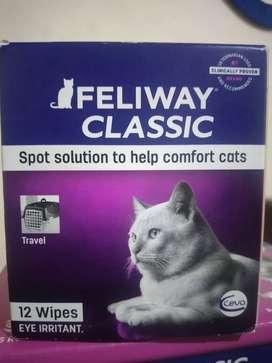Feromonas Feliway Caja X12 toallitas