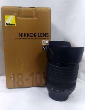 Lente Nikon 18-105