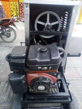 Se vende máquina de cremas a gasolina en buen estado