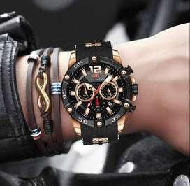 Reloj Deportivo para Hombre, estilo Militar