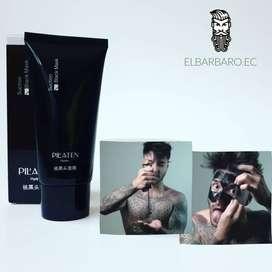 Mascarilla Negra Limpiador Facial Removedor Puntos Negros Acne Pilaten