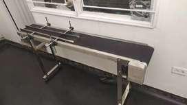 Banda transportadora entrega inmediata stock  modelos y  precios acero inoxidable ,para codificador inkjet