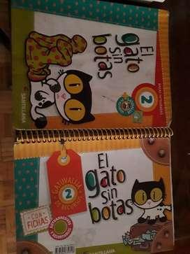 Libro EL GATO SIN BOTAS 2 SANTILLANA