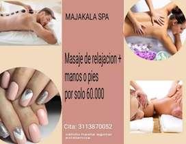 Masajes mas uñas