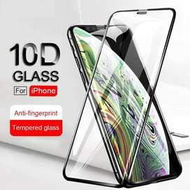 Vidrio Templado Iphone Cover Full Curvo X Xs Max Xr 5d 6d