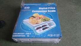 bascula gramera digital marca ICM con capacidad para 50 kilos NUEVA