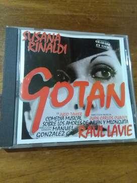Cd Musica Susana Rinaldi Gotan en Vivo 1995 TANGO