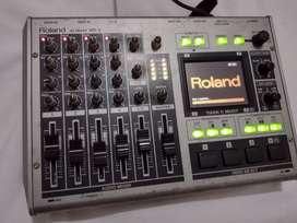 Mezclador de audio y vídeo portátil con puerto usb, Roland VR-3, Muy buen estado, 100% funcional.