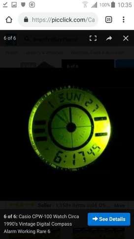 Reloj Casio Cpw 100 Brujula Vintaje