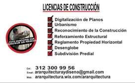 Planos Licencias de Construcción