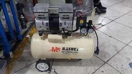 Compresora Silenciosa Masuki Dental 36 litros - 1.2 hp
