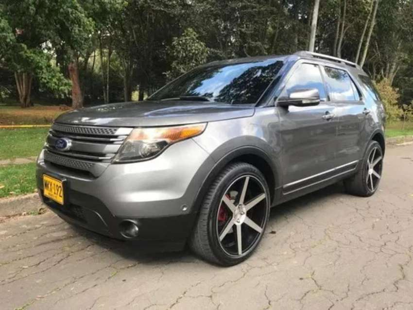 Camioneta Ford Explorer New 2013 Full 0