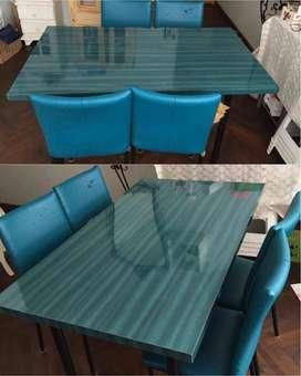 juego de mesa y silla usado