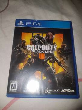 Juego ps4 calle oficial duty ops4