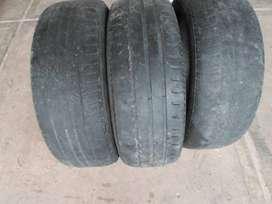 vendo 3 cubietas usadas dunlop fate 185/6015 p/auxilio o carro y filtro de aire p/camion mahle xl 626