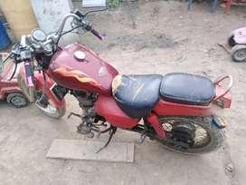 Vendo moto shineray 250