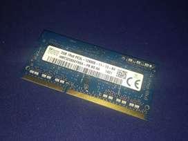 MEMORIA RAM 2GB 1Rx8 PC3L-12800S-11-13-B4