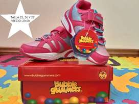 Zapatos bubble gummers
