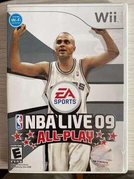 NBA LIVE 09 - Wii
