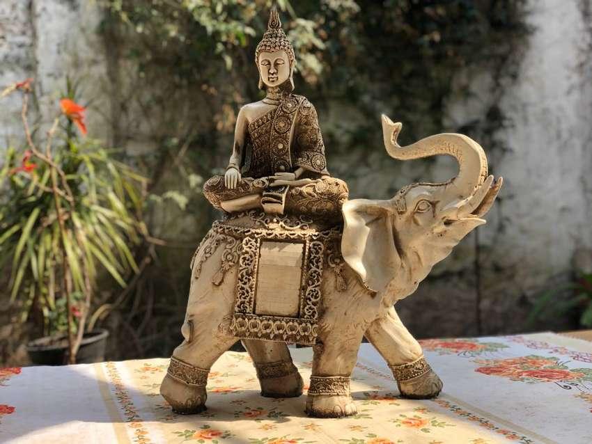 Buda sobre Elefante 0