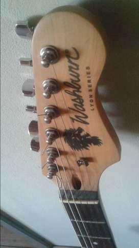 Guitarra Eléctrica Washburn Lyon Series (tipo Stratocaster)