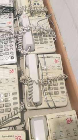 TELEFONO PANASONIC ADVANCED MODEL No KX-TS105LXW