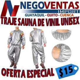 TRAJE SAUNA DE VINIL UNIXES