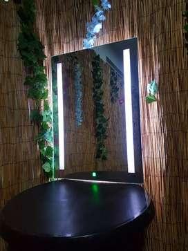 Espejo LED De Lujo Para Baño