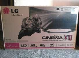 Televisor LG 42 Pulgadas 3D NO SMART