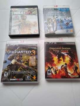 Vendo juegos de pley 3 originales